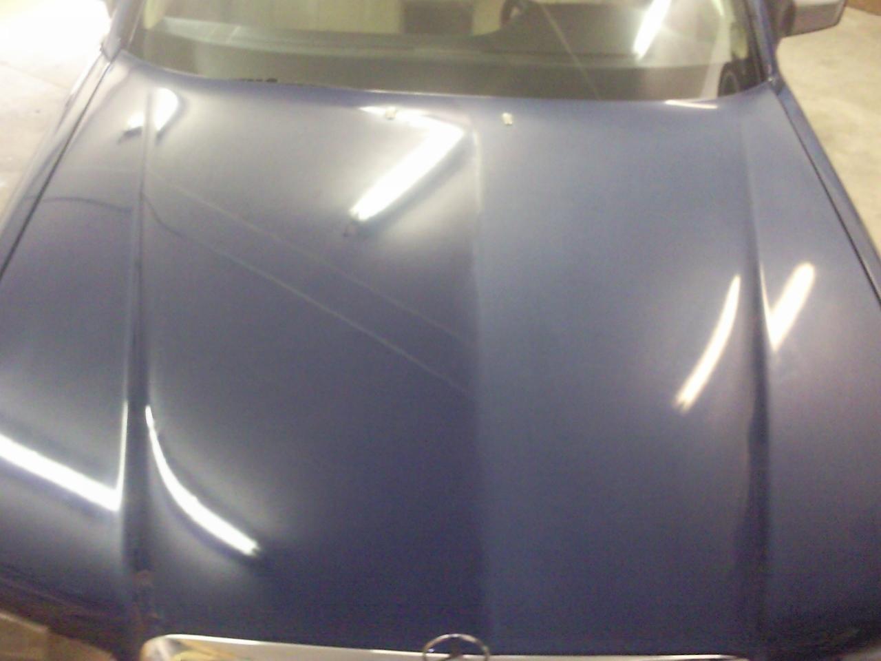 Mercedes S-Klasse Lackaufbereitung1
